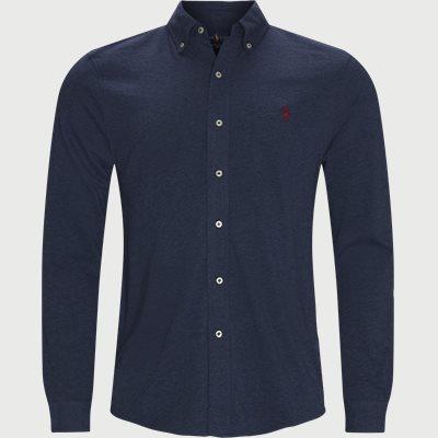 Featherweight Mesh Shirt Regular fit   Featherweight Mesh Shirt   Blå